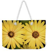 African Daisy-twice Weekender Tote Bag