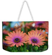 African Daisy Twins Weekender Tote Bag