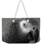 African Gray Weekender Tote Bag
