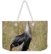 African Grey Crowned Crane Weekender Tote Bag