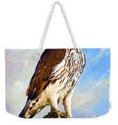 African Hawk Eagle Weekender Tote Bag