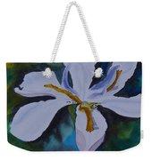 African Iris Weekender Tote Bag