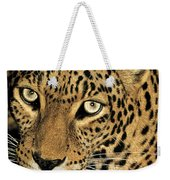 African Leopard Panthera Pardus Captive Wildlife Rescue Weekender Tote Bag