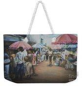 African Market Weekender Tote Bag