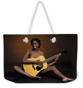 African Nude And Guitar 1184.02 Weekender Tote Bag