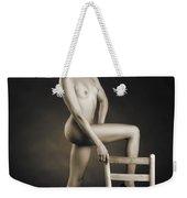 African Nude With Chair 1189.01 Weekender Tote Bag