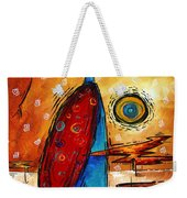 African Queen Original Madart Painting Weekender Tote Bag
