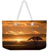 African Sunrise Weekender Tote Bag