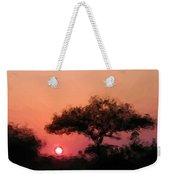 African Sunset Weekender Tote Bag by David Lane