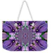 African Violet Wave Weekender Tote Bag