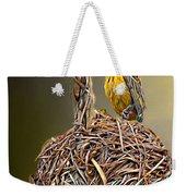 Weaver Nest Weekender Tote Bag