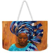 African Woman 5 Weekender Tote Bag