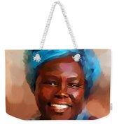 African Woman Weekender Tote Bag