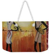 Afro Abstract Weekender Tote Bag