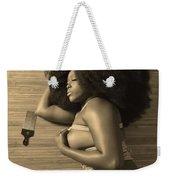 Afro Pic Weekender Tote Bag