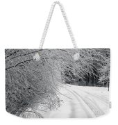 After An Ice Storm Weekender Tote Bag