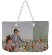 After Lunch Weekender Tote Bag by Gerard Chowne