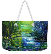 After Monet Weekender Tote Bag