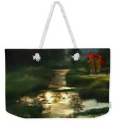 After Morning Rain Weekender Tote Bag