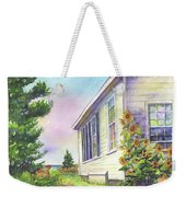 After School Activities At Monhegan School House Weekender Tote Bag