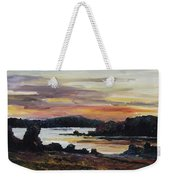 After Sunset At Lake Fleesensee Weekender Tote Bag