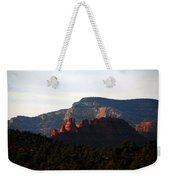 After Sunset In Sedona Weekender Tote Bag