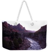 After Sunset The Light Glows Weekender Tote Bag