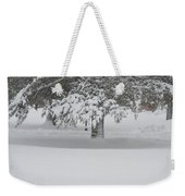 After The Blizzard Weekender Tote Bag