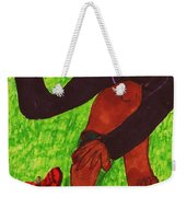 After The Race Ouch Weekender Tote Bag