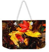After The Rains Of Autumn Weekender Tote Bag