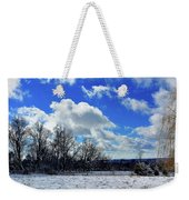 After The Snow Storm Weekender Tote Bag
