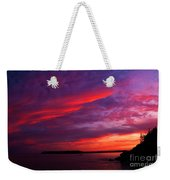 After The Storm Sunset Weekender Tote Bag