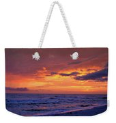 After The Sunset Weekender Tote Bag by Sandy Keeton
