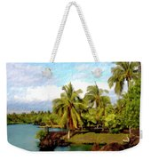 Afternoon At Mauna Lani Hawaii Weekender Tote Bag