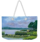 Afternoon At Pilgrim Weekender Tote Bag