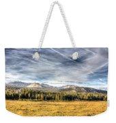 Afternoon Clouds Weekender Tote Bag
