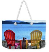 Afternoon Coffee Weekender Tote Bag