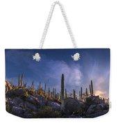 Afternoon Desert Scene Weekender Tote Bag