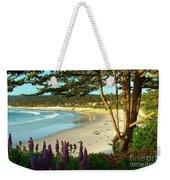 Afternoon On Carmel Beach Weekender Tote Bag
