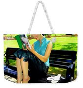 Afternoon Read Weekender Tote Bag