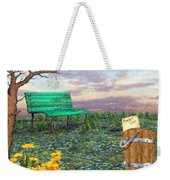 Afternoon Snooze Weekender Tote Bag