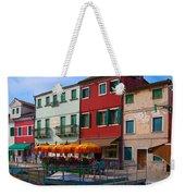 Afternoon Stroll In Murano  Weekender Tote Bag