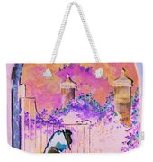 Afternoon Stroll Weekender Tote Bag