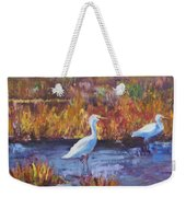Afternoon Waders Weekender Tote Bag