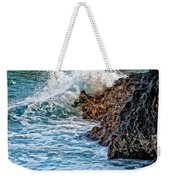 Against The Rocks Weekender Tote Bag