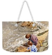 Against The Tide Weekender Tote Bag