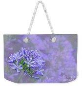 Agapantha Lilac Pastel By Kaye Menner Weekender Tote Bag