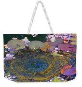 Agape Gardens Autumn Waterfeature Weekender Tote Bag