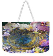 Agape Gardens Autumn Waterfeature II Weekender Tote Bag