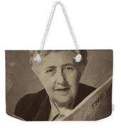 Agatha Christie 3 Weekender Tote Bag